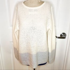 Boden Chunky Knit Long Sleeve Crew Neck Sweater A4